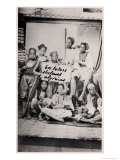 Algerian Children from the Region of Annaba, Late 19th Century, Giclee Print