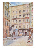 Postcard Depicting the House in Salzburg Where Wolfgang Amadeus Mozart was Born, 1912 Giclee Print by Hans Nowack