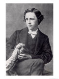 Portrait of Lewis Carroll Giclee Print by Oscar Gustav Rejlander