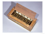 Calculating Machine invented by Blaise Pascal 1644, Giclee Print