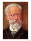 Postcard of Piotr Ilyich Tchaikovsky Giclee Print by H. Serov