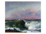 The Wave, 1870 Giclee Print by Gustave Courbet