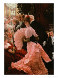The Reception Or, L&#39;Ambitieuse circa 1883-85 Giclee Print by James Tissot