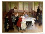 Nursery School, 1898 Giclee Print by Jules Jean Geoffroy