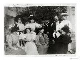 Group Portrait with Stephane Mallarme, Summer or Autumn 1896 Giclee Print