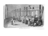 Industrial Weaving and Spinning at Landerneau, from &#39;L&#39;Illustration&#39;, 27th Octo Ber 1849 Giclee Print by  French