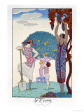 The Earth, 1925 Giclee Print by Georges Barbier