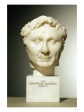 Bust of Pompey circa 60 BC Giclee Print