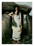 The Druidess Giclee Print by Armand Laroche