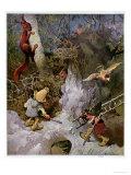 Gnomes Giclee Print by Heinrich Schlitt
