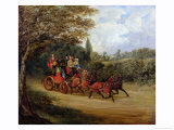 The Royal Mail Coach with Passengers Giclee Print by Samuel Henry Alken