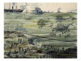 Great Submarine Battle, Late 19th Century Giclee Print by Albert Robida