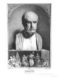 Portrait of Hippocrates, 1st Half 19th Century Giclee Print by Langlume