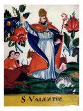 St. Valentine, Giclee Print