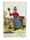The Soap Maker, circa 1735 Giclee Print by Martin Engelbrecht