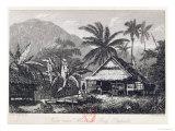View Near Matavai Bay, Otaheite Giclee Print by John Webber