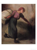 The Laundress, 1894 Giclee Print by Th&#233;ophile Alexandre Steinlen