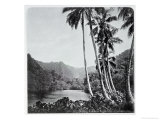 Hitiaa Lake, from &quot;Tahiti,&quot; Published in London, 1882 Giclee Print by Colonel Stuart-wortley