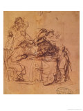The Vices of the Prodigal Son Giclee Print by  Rembrandt van Rijn
