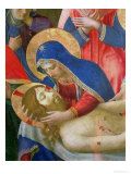 Lamentation over the Dead Christ, 1436-41 (Detail) Giclee Print by  Fra Angelico