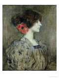 Colette, circa 1896 Giclee Print by Jacques Fernand Humbert