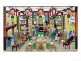 A Room in the House of Mr. Kong, a Peking Merchant Giclee Print by  Chinese School