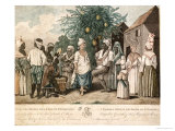 A Dance in the Island of St. Dominica Giclee Print by Agostino Brunias