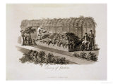 "Luxury of Gardens, from ""Fragments on the Theory and Practice of Landscape Gardening"" Giclee Print by Humphry Repton"