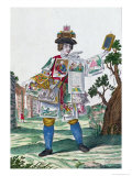 Picture Seller, circa 1735 Giclee Print by Martin Engelbrecht