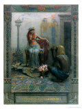 Cleopatra, Scene from &quot;Anthony and Cleopatra&quot; by By William Shakespeare Giclee Print by Christian August Printz