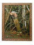 The Witch Baba Yaga, Illustration from the Story of 'Vassilissa the Beautiful', Russian Folk Tale, Ivan Bilibin, Illustrator, 1902, Giclee Print