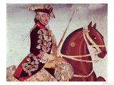 Equestrian Portrait of King Frederick II of Prussia Giclee Print