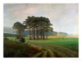 Midday, 1820-25 Reproduction procédé giclée par Caspar David Friedrich
