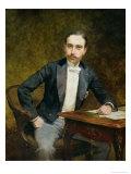 Charles Haas 1891 Giclee Print by Theobald Chartran
