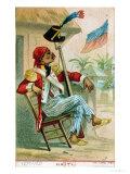 A Haitian Soldier, 1879 Giclee Print