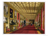 South Corridor, Windsor Castle, 1838 Giclee Print by James Baker Pyne