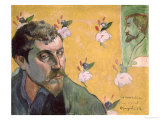 Self Portrait 1888 Reproduction proc&#233;d&#233; gicl&#233;e par Paul Gauguin