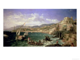 View of Genoa, 1854 Giclee Print by William Parrott