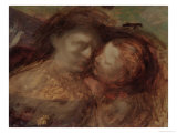 Mother and Child, Late 1890s Giclee Print by Eugene Carriere