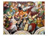 The Concert of Angels, 1534-36 (Detail) Wydruk giclee autor Gaudenzio Ferrari