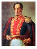 Simón Bolivar, Giclee Print