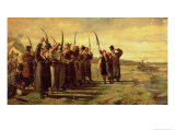 Polish Insurrectionists of the 1863 Rebellion Giclee Print by Stanislaus Chlebowski