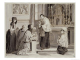 The Seven Sacraments: Communion, 1779 Giclee Print by Pietro Antonio Novelli