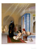Pool in a Harem, circa 1876 Reproduction proc&#233;d&#233; gicl&#233;e par Jean-L&#233;on G&#233;r&#244;me