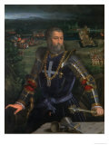 Portrait of Alfonso I D'Este Giclée-tryk af Dosso Dossi