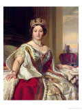 Portrait of Queen Victoria 1859 Giclee Print by Franz Xavier Winterhalter