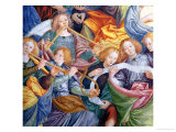 The Concert of Angels, 1534-36 (Detail) Giclee Print by Gaudenzio Ferrari
