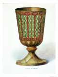 "The Chalice of Chelles, Illustration from ""Dictionnaire D'Archeologie Chretienne Et De Liturgie"" Giclee Print by A. Du Saussay"