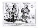Politeness Giclee Print by James Gillray