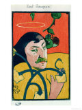 Self Portrait, 1889 Premium Giclee Print by Paul Gauguin